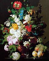 Рисование по номерам BABYLON Натюрморт с персиками худ. Ван Дель Ян Франц (MS435), фото 1