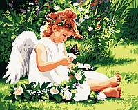 Картина раскраска MENGLEI В райском саду (MG310) 40 х 50 см, фото 1