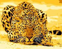 Картина по номерам MENGLEI Леопард (MG305) 40 х 50 см, фото 1