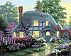 Картина по номерам MENGLEI Дом цветочной феи худ. Кинкейд Томас (MG300) 40 х 50 см