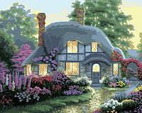 Картина по номерам MENGLEI Дом цветочной феи худ. Кинкейд Томас (MG300) 40 х 50 см, фото 1