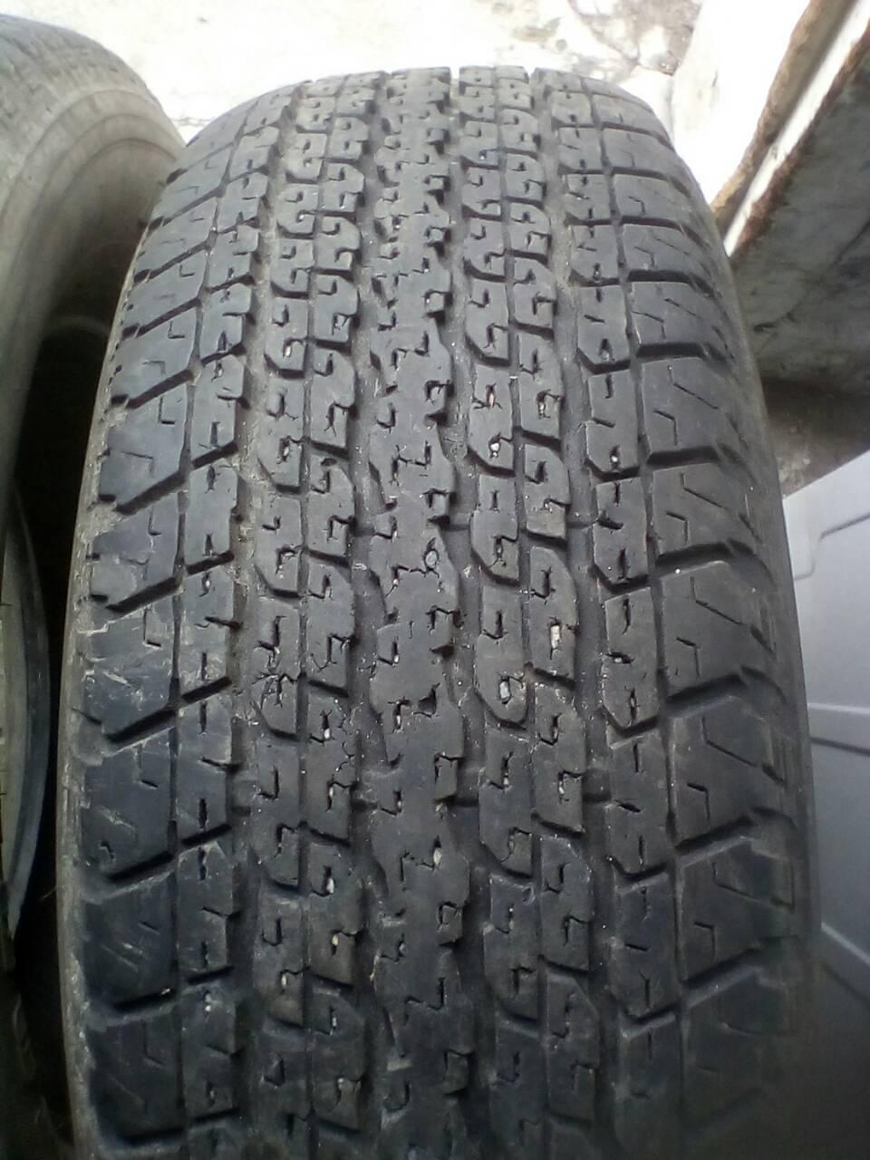 Шины б\у, летние: 255/65R17 Bridgestone Dueler H/T 840