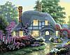 Картина по номерам BABYLON Дом цветочной феи худ. Кинкейд Томас (MS336)