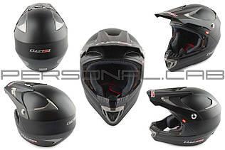 Шлем кроссовый   (mod:MX422) (size:S, черный матовый)   LS-2
