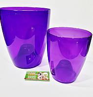 Кашпо для орхідей 20*24см колір в асортименті