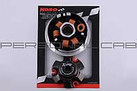 Вариатор передний (тюнинг)   4T GY6 150   (медно-граф. втулка, ролики латунь)   KOSO
