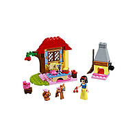 Конструктор лего джуниур Lego Juniors Лесной домик Белоснежки 10738