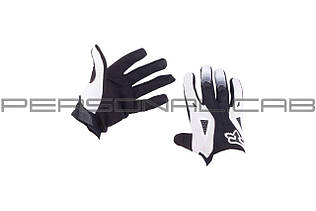 Перчатки   DIRTPAW   (mod:034, size:L, черно-белые)   FOX