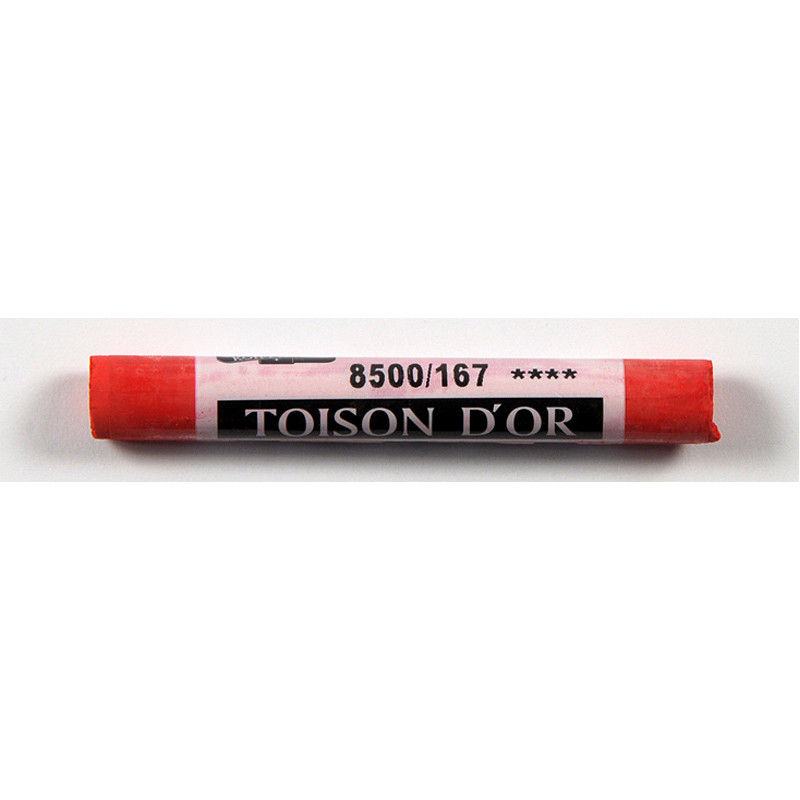 Мел пастель Toison D'or Koh-i-noor пиррол желтовато-красный pyrrole red yellowish 8500/167
