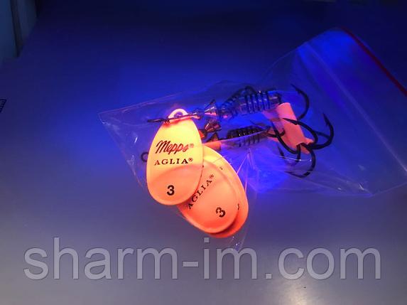 Вертушка Mepps Aglia Fluo Orange №1 (3,5 г), фото 2