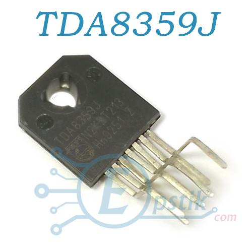 TDA8359J, Драйвер вертикальной развертки ТВ, DBS9P