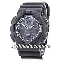 Часы наручные Casio G-Shock GA-100 All Black (реплика)