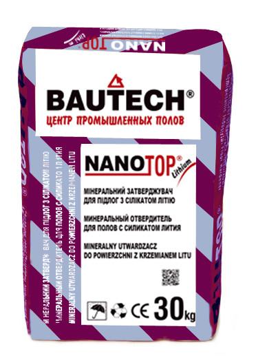 NANO-TOP силикато-литиевый отвердитель для полов NT-01 кирпично-красный