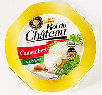 Сыр камамбер с белой плесенью Roi du Chateau Camembert, 120 г., фото 1