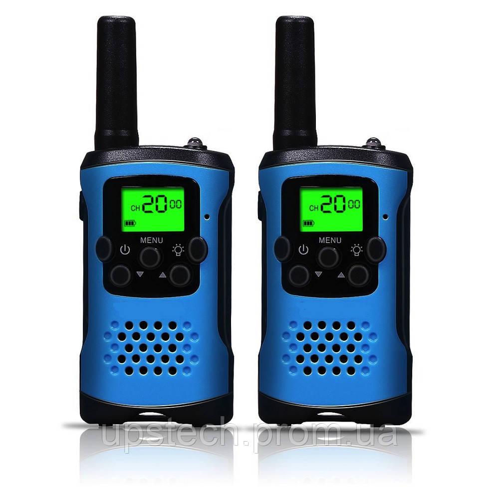 Рации Walkie-Talkie E-style T48 Blue радиостанция