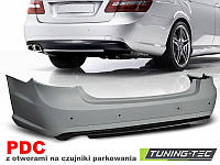 Задний бампер тюнинг обвес Mercedes W212 в стиле AMG E63