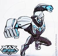 Картина раскраска Max Steel готов к бою (MX14217K) 25 х 25 см