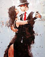 Картина раскраска DIY Babylon Танец страсти худ Кон Андрэ (SW028) 40 х 50 см