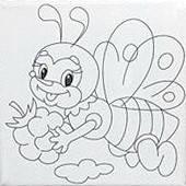 Набор для рисования  Маленькая пчелка  (UMA470)