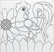 Набор для рисования  Петушок - Рано утром   (UMA471)