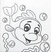 Набор для рисования  Дельфинчик  (UMA473)