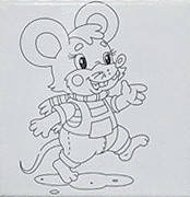 Набор для рисования  Мышонок - Самый лучший подарок  (UMA475)