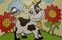 Набор для рисования  Коровка  (UMA503)