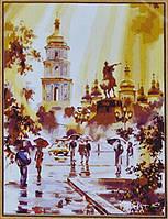 Раскраска по цифрам  Киев. Софиевская площадь  (UMG494)