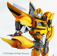 Картина раскраска Transformers Бамблби (TF14216K) 20 х 20 см