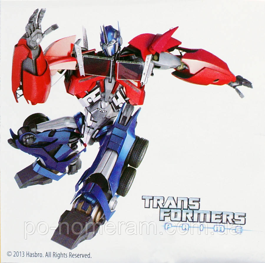 картина раскраска Transformers оптимус прайм Tf14217k 25 х 25 см купить киев на Po Nomeram