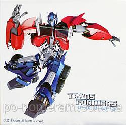 Картина раскраска Transformers Оптимус Прайм (TF14217K) 25 х 25 см