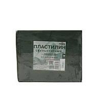 Пластилин скульптурный Гамма твердый оливковый 500г (2.80.E050.003)