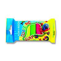 Пластилин мягкий Koh-i-noor Fluorescent 5 цв 100г (01315S0502PS)