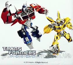 Картина раскраска Transformers Оптимус Прайм и Бамблби (TF14218K) 25 х 30 см