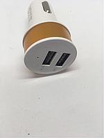 Зарядка - прикуриватель с выходом на  USB 2