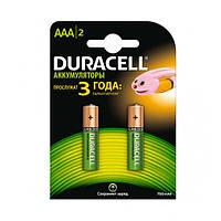 Акумулятор AAA 900mAh Duracell HR03 блістер (2шт) (5003451)