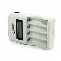 Зарядний пристрій AA/AAA Extradigital BC180 White (AAC2814)