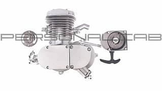 Двигатель   Веломотор   (80cc, голый, + стартер)   KOMATCU   (mod.A)