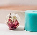 Силиконовый молд на усеченный шар с платформой под шляпку (D-28мм), фото 6