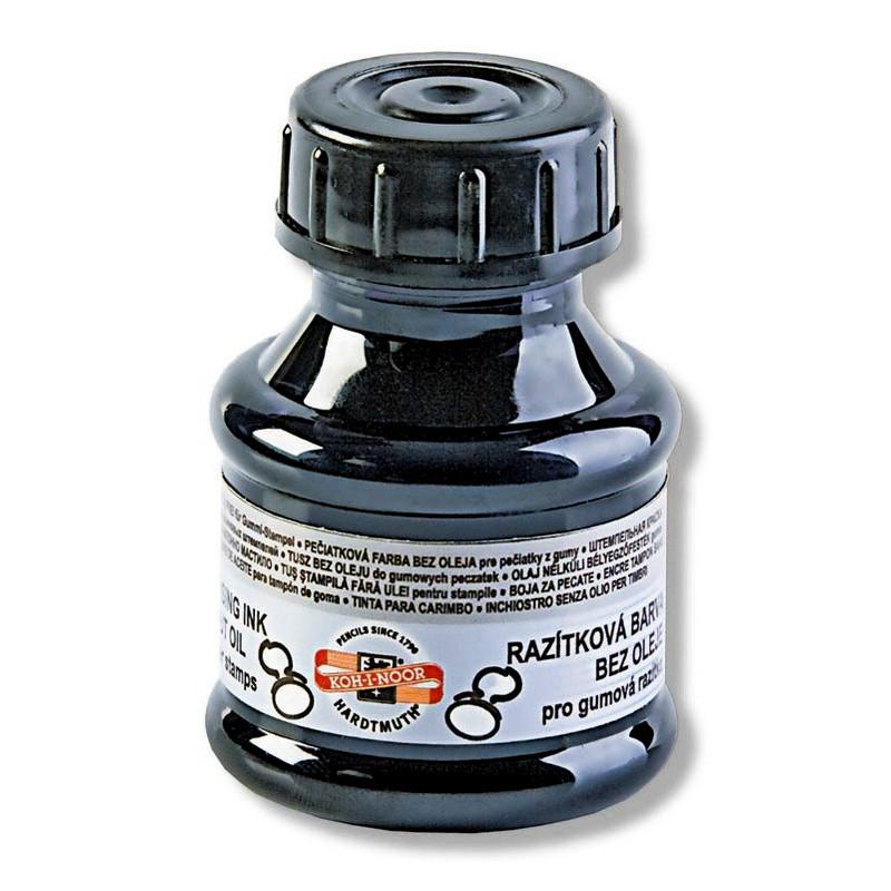 Краска штемпельная Koh-i-noor 50 мл черная 142501