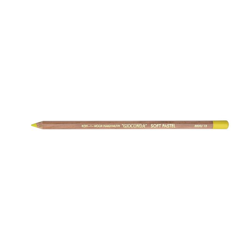 Карандаш пастельный Koh-i-noor Gioconda цинковый желтый zinc yellow (8820/13)