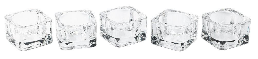 Набор подсвечников для чайной свечи  5шт Bispol 3,5 см (ps59141-5-000)
