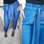 Стильные женские брюки лен, фото 2
