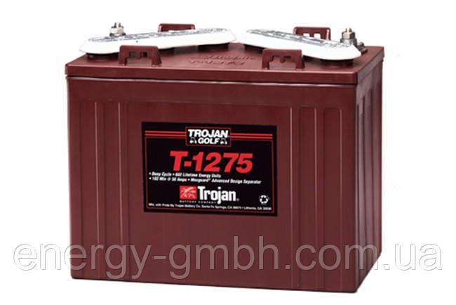Тяговая батарея (тяговый аккумулятор) TROJAN T-1275 для гольф-кара