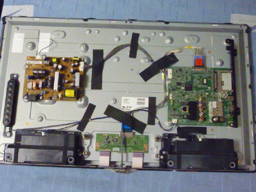 Платы от LED TV LG 32LN540V-ZA.BDRYLJU поблочно, в комплекте (матрица разбита).