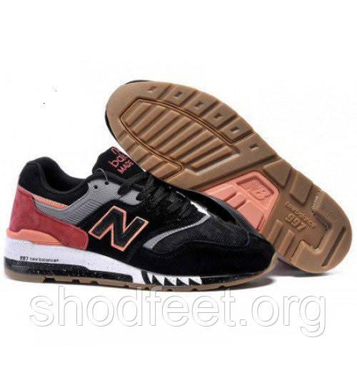 Мужские кроссовки New Balance 997 Shark Black