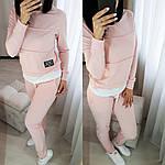 Женский спортивный костюм турецкая двухнитка, фото 2