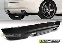 Юбка накладка заднего бампера тюнинг обвес VW Golf 5 стиль GTI
