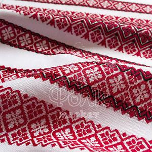Ткань с украинской вышивкой Колибри