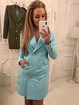 """Удлиненный женский пиджак """"Jenna"""" с карманами и длинным рукавом (3 цвета), фото 3"""